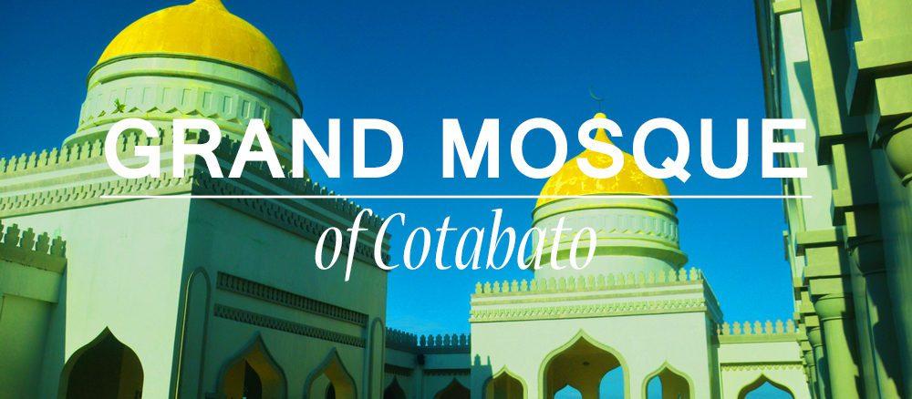 Grand Mosque, Golden Mosque, Cotabato, Sultan, Muslim, Mindanao
